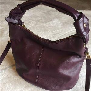 Tignanello purse with removable crossbody strap